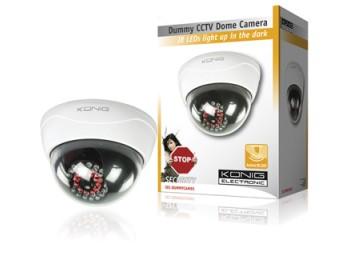 König Atrapa CCTV kopulovité kamery s 25 IR LED