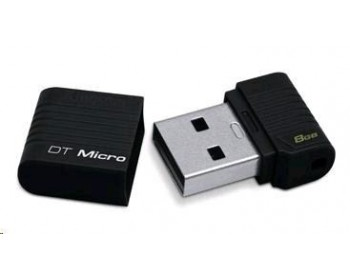 Kingston 8GB USB 2.0 Hi-Speed DataTraveler Micro - černý