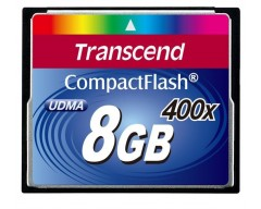 TRANSCEND Compact Flash Card (400x) 8GB (Premium)