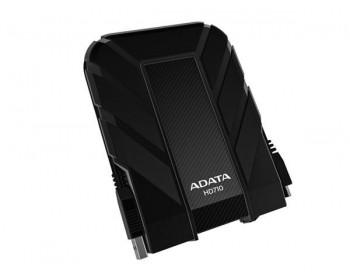 ADATA Externí HDD 2TB 2,5 USB 3.0 DashDrive Durable HD710, černý (gumový, vodě/nárazu odolný)